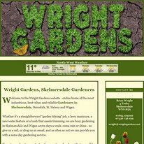 Wright Gardens of Lancashire: Click to visit Wright Gardens
